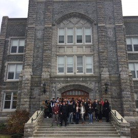 Grade 12 Students Visit St. Mary's University