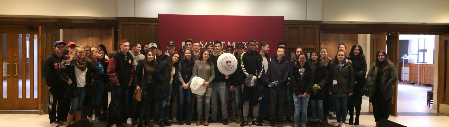 Halifax West Students Visit SMU